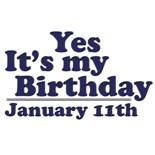Jan Birthday