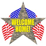 Welcome Home Daddy Navy