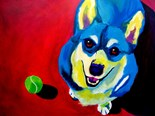 Whimsical Dog Art