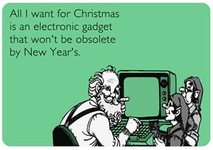 Obsolete Electronic Gadget