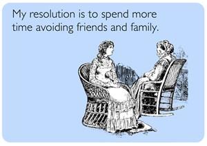 Avoiding Friends & Family