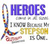 I Wear Puzzle Ribbon My Autistic Sons