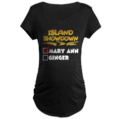 Island Showdown Maternity Dark T-Shirt