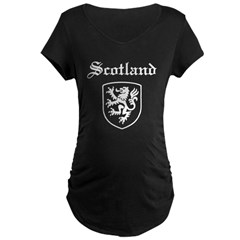 Scotland Maternity Dark T-Shirt