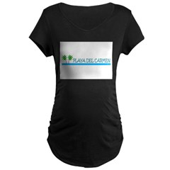 playadelcarmenwater.jpg Maternity Dark T-Shirt