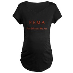 FEMA Maternity Dark T-Shirt