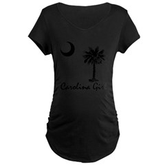 Carolina Girl Maternity Dark T-Shirt
