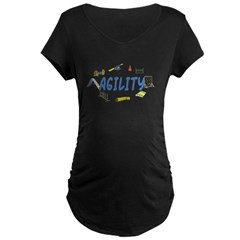 Agility Maternity Dark T-Shirt