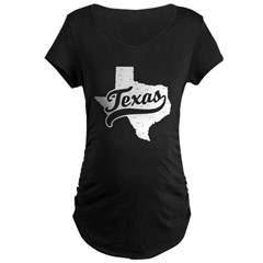 Texas Maternity Dark T-Shirt