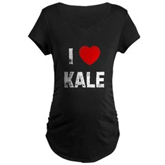 I * Kale Maternity Dark T-Shirt