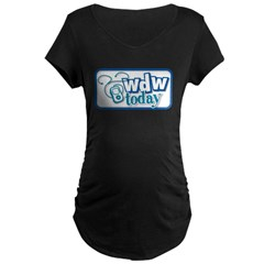WDW Today Maternity Dark T-Shirt