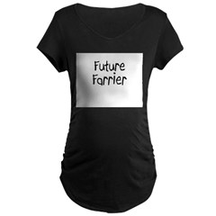 Future Farrier Maternity Dark T-Shirt