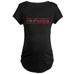 cheerleading Maternity Dark T-Shirt