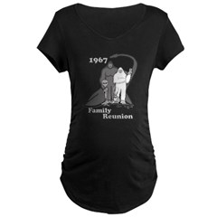 1967 Bigfoot Family Reunion Maternity Dark T-Shirt