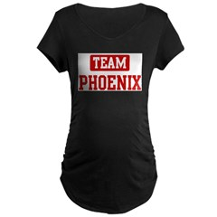 Team Phoenix Maternity Dark T-Shirt