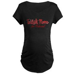 Twilight Moms Love Edward Maternity Dark T-Shirt