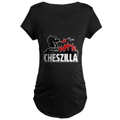 Chess Zilla 2 Maternity Dark T-Shirt