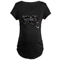 Beyotch Maternity Dark T-Shirt