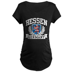 Hessen Germany Maternity Dark T-Shirt