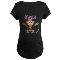 Little Monkey Kayla Maternity Dark T-Shirt
