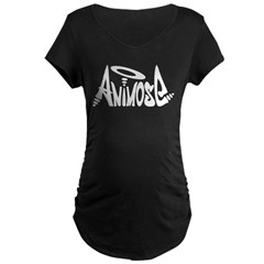 Animose Maternity Dark T-Shirt