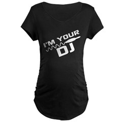 Clubbing Maternity Dark T-Shirt