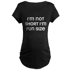 I'm Fun Size Maternity Dark T-Shirt