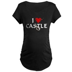 Castle Style 1 Maternity Dark T-Shirt