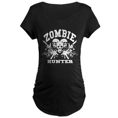 Zombie Hunter - Maternity Dark T-Shirt