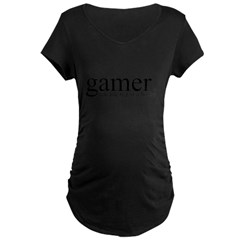 Gamer. Maternity Dark T-Shirt