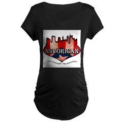 NuYoRicaN Maternity Dark T-Shirt