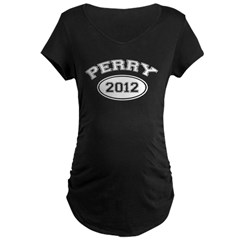 Perry 2012 Maternity Dark T-Shirt