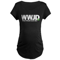 WWJackDo Maternity Dark T-Shirt