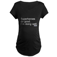 superheroes copy Maternity Dark T-Shirt