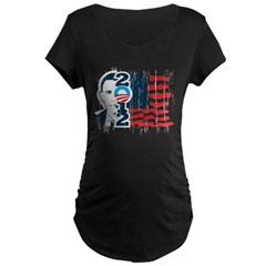 Barack Obama Maternity Dark T-Shirt