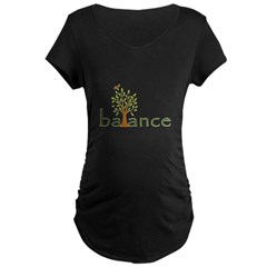 Balance Maternity Dark T-Shirt