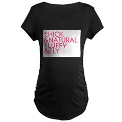 Thick ... Maternity Dark T-Shirt