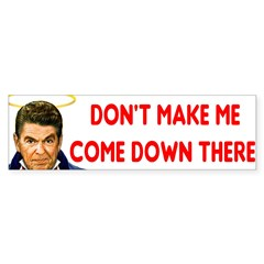 Dont make me! Sticker (Bumper 50 pk)