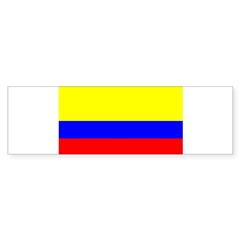 Colombia Flag Rectangle Sticker (Bumper 50 pk)