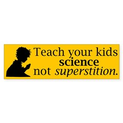 Teach your kids science Sticker (Bumper 50 pk)