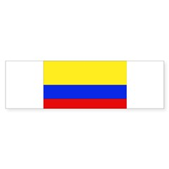 Colombian Flag Rectangle Sticker (Bumper 50 pk)