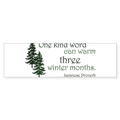 Kind Word Sticker (Bumper 50 pk)