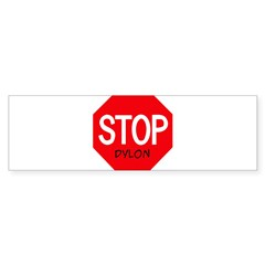 Stop Dylon Sticker (Bumper 50 pk)