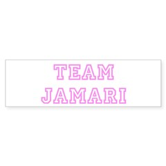 Pink team Jamari Sticker (Bumper 50 pk)