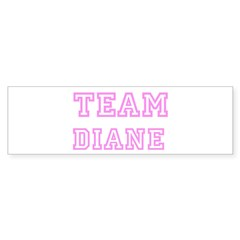 Pink team Diane Sticker (Bumper 50 pk)