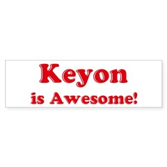 Keyon is Awesome Sticker (Bumper 50 pk)