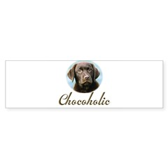 Chocoholic Rectangle Sticker (Bumper 50 pk)