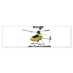 Helicopter Rectangle Sticker (Bumper 50 pk)