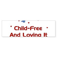 Child Free Sticker (Bumper 50 pk)