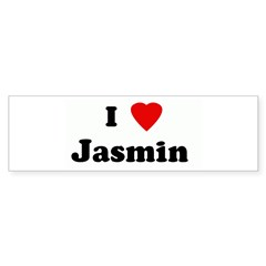 I Love Jasmin Sticker (Bumper 50 pk)